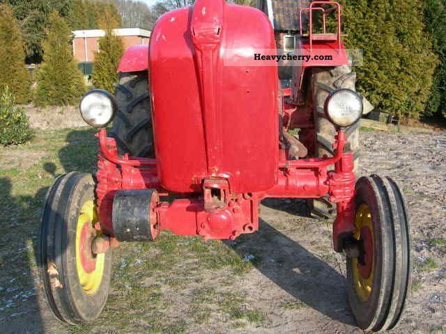 1957 Porsche  A 122 Agricultural vehicle Tractor photo