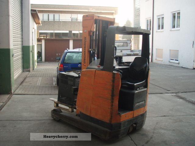 2011 Jungheinrich  ETV 16 (2007 battery) Forklift truck Reach forklift truck photo
