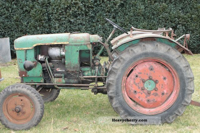 1958 Deutz-Fahr  F2L Agricultural vehicle Tractor photo