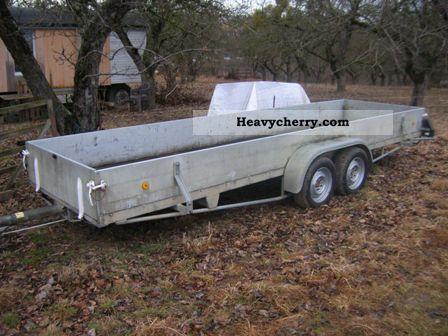 1993 Heinemann  Material Handling long long 7m Trailer Long material transporter photo