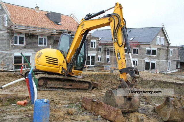 2008 JCB  8080 Construction machine Mini/Kompact-digger photo