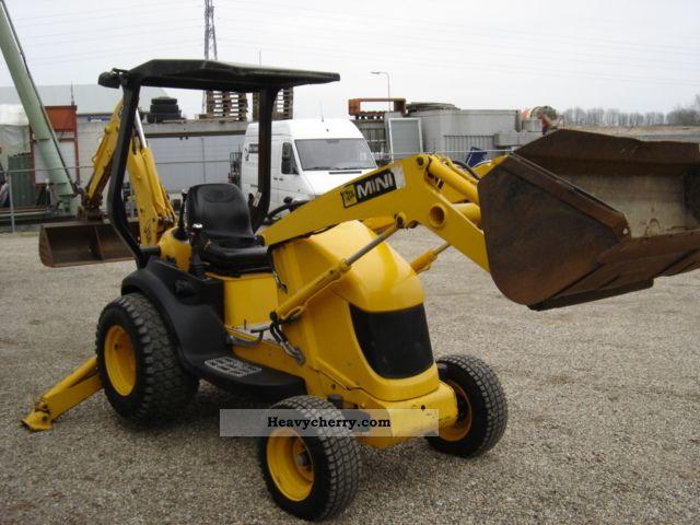 Mini Construction Equipment : Jcb mini cx combined dredger loader construction