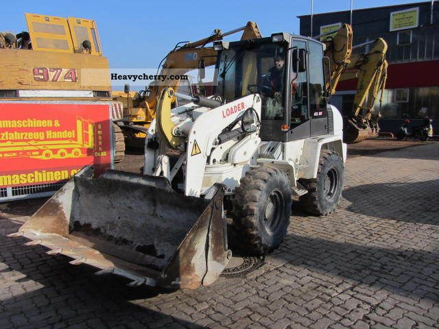 2008 Ahlmann  AS 90 ** front bucket / forks / quick hitch ** Construction machine Wheeled loader photo