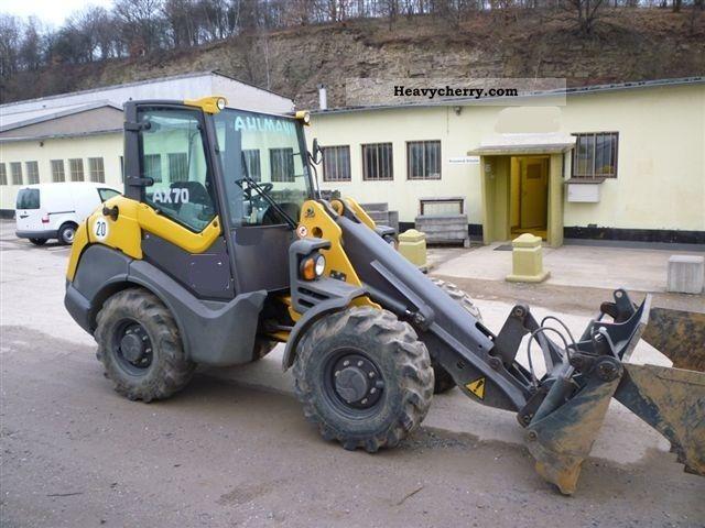 2010 Ahlmann  AX70 Construction machine Wheeled loader photo