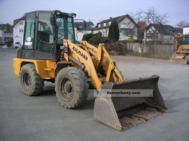 2001 Ahlmann  AL 100 Construction machine Wheeled loader photo