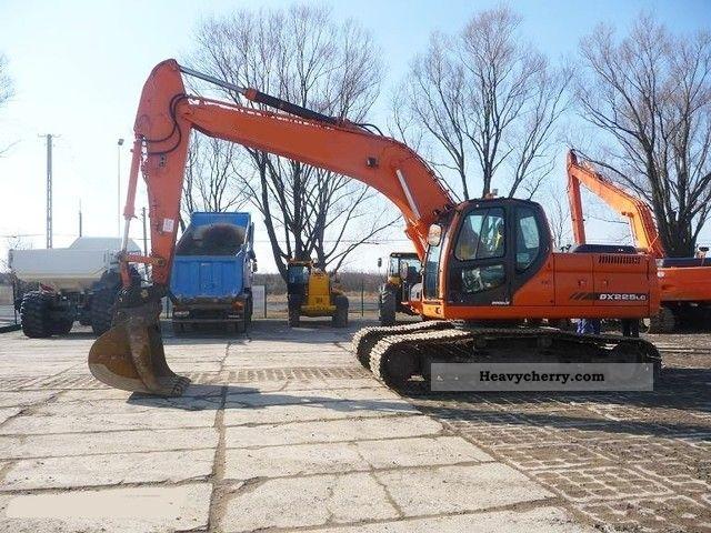 2007 Doosan  DX 225LC! Quick coupler bucket +! Construction machine Caterpillar digger photo
