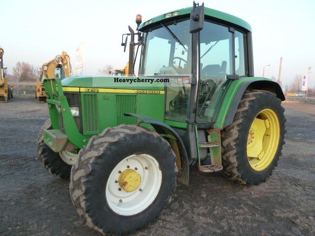 1998 John Deere  6210 PREMIER Agricultural vehicle Tractor photo