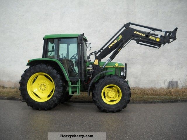 1994 John Deere  6400 Agricultural vehicle Tractor photo