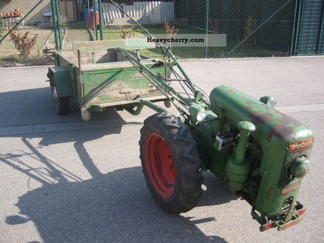 2011 Holder  ED2 with trailer Agricultural vehicle Loader wagon photo