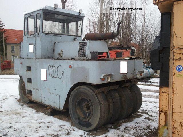 1980 Hamm  GRW 20 Construction machine Rollers photo