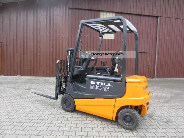 2001 Still  R60-16 Forklift truck Front-mounted forklift truck photo
