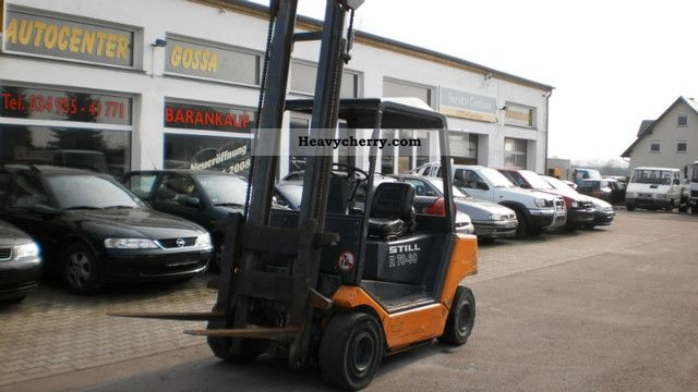1993 Still  R70-30 Forklift truck Front-mounted forklift truck photo