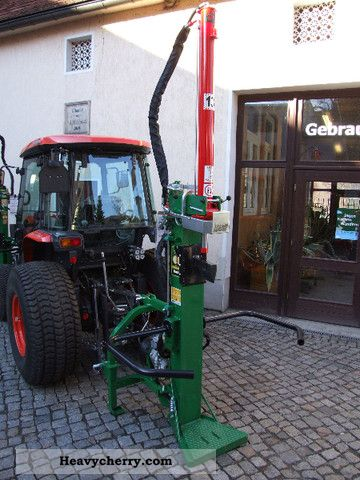 Kubota Thor 13 Ton Log Splitter Magik Combination 2011