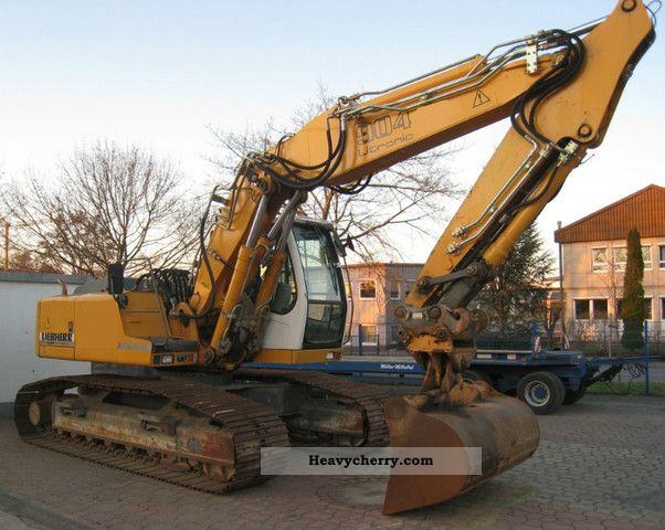 2004 Liebherr  904 HDSL, boom, 3900 Bh TOP Construction machine Caterpillar digger photo