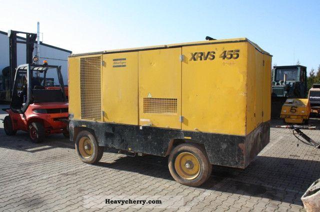 1995 Atlas Copco  XRVS 455 Compressor Construction machine Other construction vehicles photo