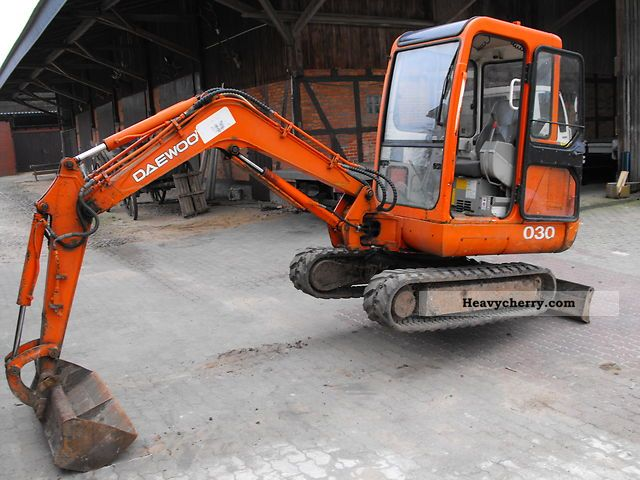 Mini/Kompact-digger, Construction machine Commercial Vehicles With