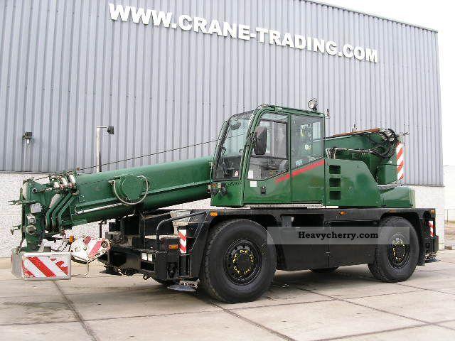 2003 Demag  AC 30 City Class Truck over 7.5t Truck-mounted crane photo