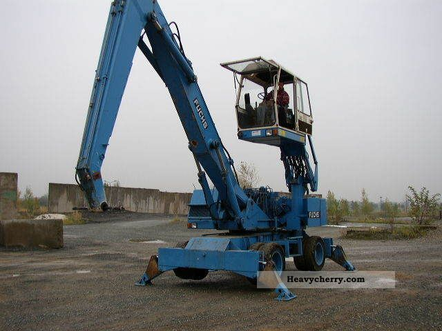 1991 Fuchs  713.3 Handling / Industrial hydraul.Kabine Construction machine Mobile digger photo