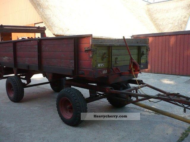 2011 Bergmann  Spreader Agricultural vehicle Loader wagon photo