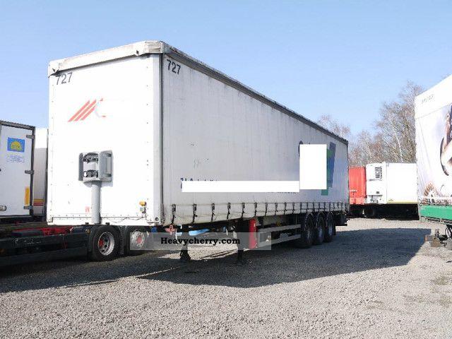 2003 Trailor  Tautliner Semi-trailer Stake body and tarpaulin photo