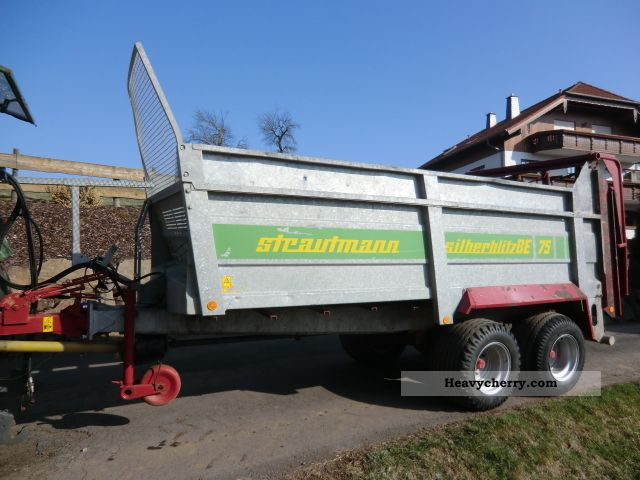 2006 Strautmann  Silver Lightning BE 75 Agricultural vehicle Other agricultural vehicles photo