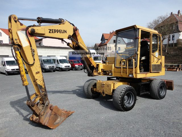 1993 Zeppelin  ZMH 25 spoons available 5x 1.Hand! Construction machine Mobile digger photo