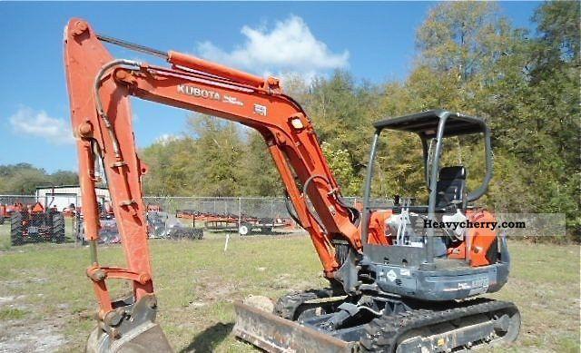 2008 Kubota  2008 KX121-3ST Construction machine Mini/Kompact-digger photo