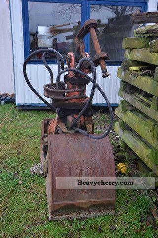 2011 Atlas  2 cups grab E17 580mm Construction machine Mobile digger photo