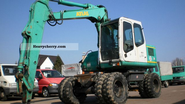 1997 Atlas  1204 Construction machine Mobile digger photo