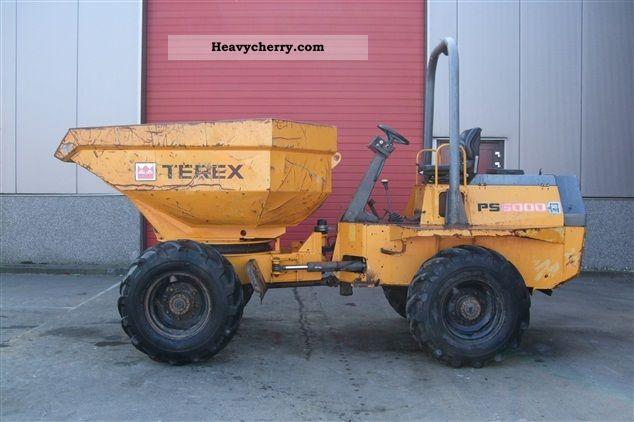 2004 Terex  PS6000 Construction machine Construction Equipment photo