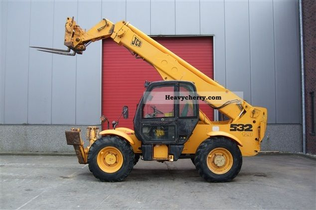 1998 JCB  532 120 Forklift truck Telescopic photo
