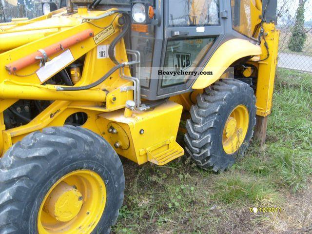 2011 JCB  terna mini 2cx Construction machine Construction Equipment photo