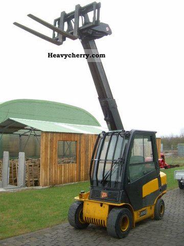 2007 JCB  Teletruk TLT 30G, full cab, telescope, 3 to. Forklift truck Telescopic photo