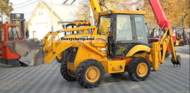 2005 JCB  2CX Construction machine Combined Dredger Loader photo