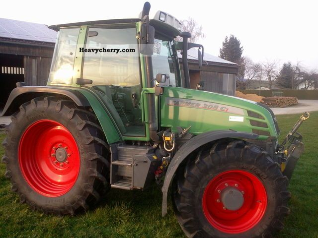 2005 Fendt  308 ci Agricultural vehicle Tractor photo