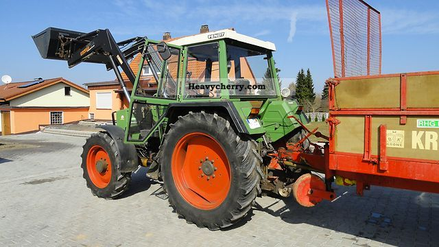 1981 Fendt  309 Agricultural vehicle Tractor photo