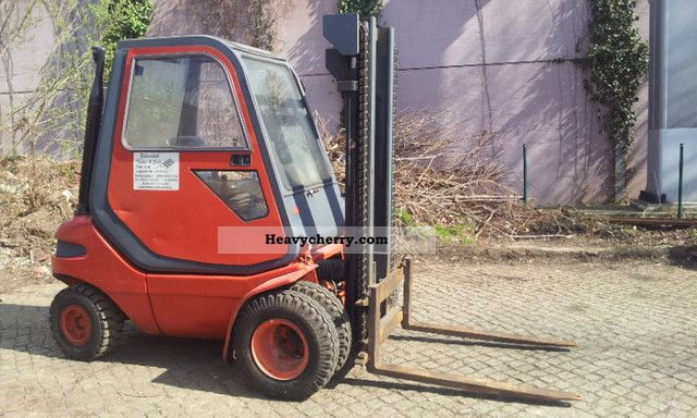 1991 Linde  H30 Forklift truck Front-mounted forklift truck photo