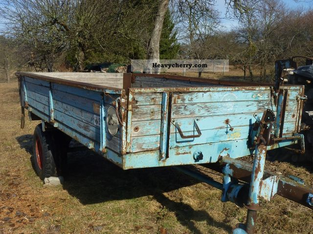 1973 Mengele  ES 300 H Agricultural vehicle Forestry vehicle photo