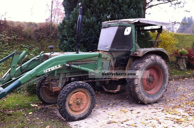 1968 Fendt  3S favorite Agricultural vehicle Tractor photo