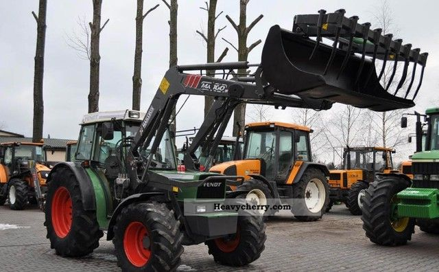 1998 Fendt  280 S + TUR MAILLEUX MX100 Agricultural vehicle Tractor photo