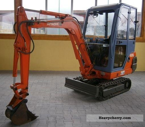 1996 Hitachi  EX15 Construction machine Mini/Kompact-digger photo