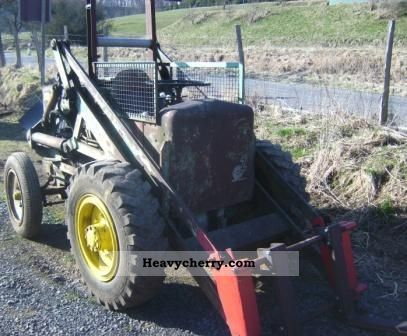 1959 Zettelmeyer  L501 Construction machine Wheeled loader photo