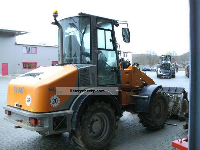 2007 Paus  SL 755 Construction machine Wheeled loader photo
