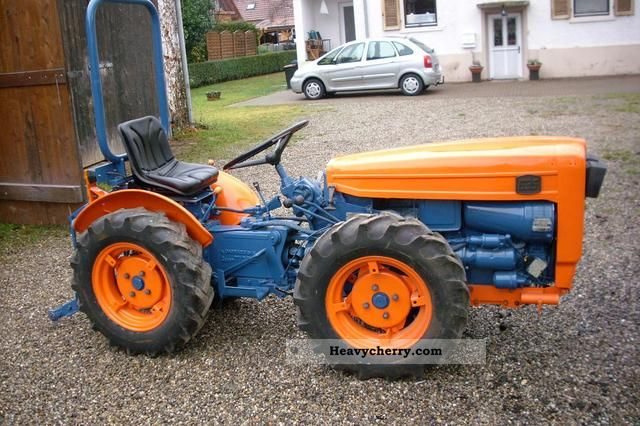 1972 Carraro  tigrone 635 narrow gauge Agricultural vehicle Tractor photo