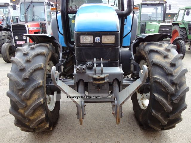 New Holland TS 115 2000 Agricultural Tractor Photo and Specs