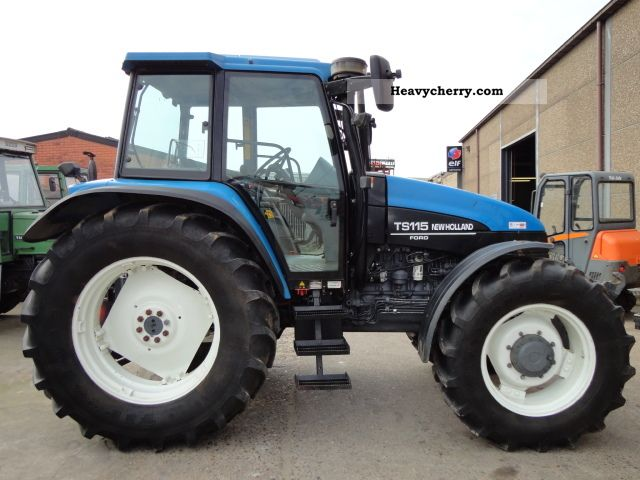 Ts_115 2000 Agricultural_vehicle Tractoron Kubota Tractor Ps List