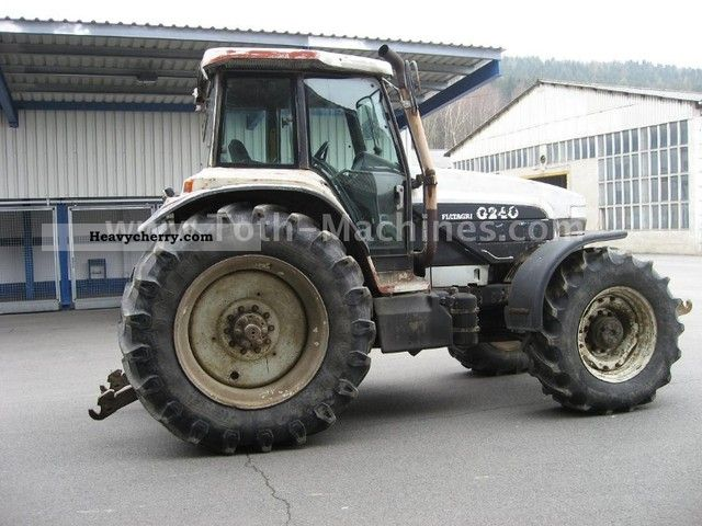 1996 New Holland Tractor : New holland g agricultural tractor photo and specs