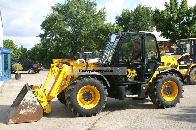 2008 JCB  531-70 - 7 m telescope loaders, shovels, forks Construction machine Other construction vehicles photo