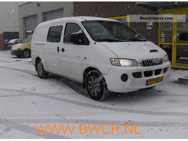 2006 Hyundai  H 200 2.5 TCI DC Van or truck up to 7.5t Box-type delivery van photo