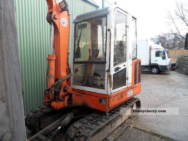 1998 Atlas  804 R Construction machine Mini/Kompact-digger photo